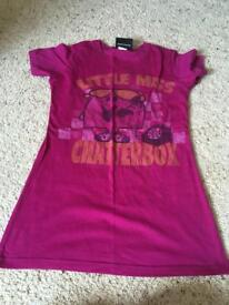Little Miss Chatterbox T-Shirt Size 10