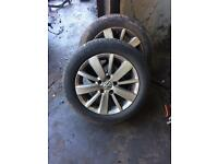 Vw golf Mk6 wheels & tyres