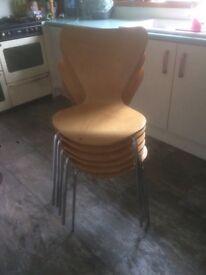 Dinning chairs x 6