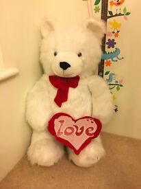 Large teddy bear