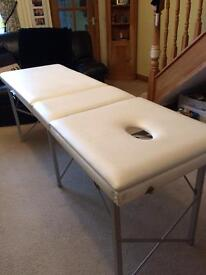 Treatment Couch / Massage Bed / Table for Sale - Portable - collect Waterlooville area