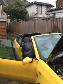 Fiat punto convertible project car