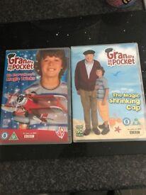 2 Grandpa In My Pocket dvds