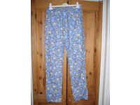 Laura Ashley patterned trousers. Small