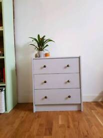 Refurbished chest of draws