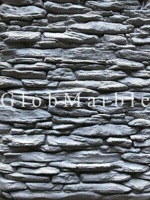 Set Of 4 Pc Concrete Vertical Stamp Mats Wsm 10701. Veneer Stone Texture Mats
