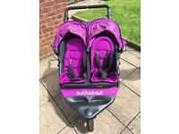 Out n About Nipper Double Pushchair V4