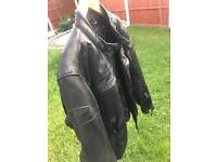 Axo Devil leather jacket size S