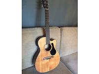 alvarez af30ce electro acoustic guitar