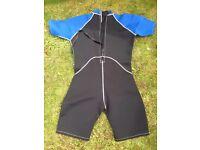 Teenage boys wet suit