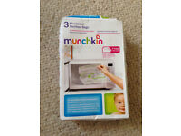 Munchkin Microwave Steriliser Bags - New (plus 1 extra free)