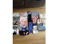 Girls clothes bundle, sizes 8-10 years.