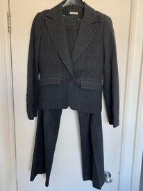 Grey Striped Suit - Size 1