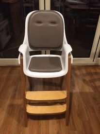 Oxo Tot Sprout Highchair -birch/walnut - great condition