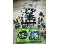 Xbox One Lego Dimensions bundle, lots of characters.