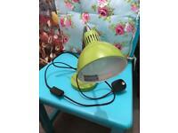 Apple green /lime desk lamp