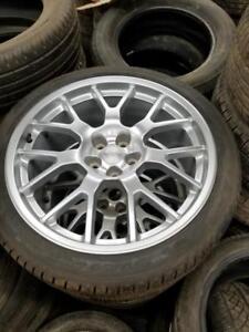 Brand new 245 40 21 / 275 35 21 Pirelli on Chevy Camaro alloy rims 5 x 120