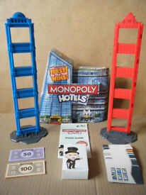 (Monopoly Hotels) Property trading board game 2012. Excellent and complete.