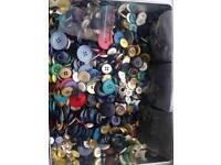Buttons job lot. Around 300 or more