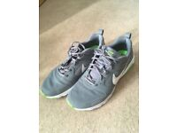 Nike Air Max Men's Size 9 Grey and Green Trainers