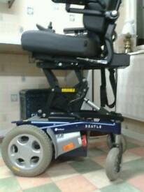 HANDICARE BEATLE PUMA CONTROLLER DX G 90A JOY STICK MOBILITY SCOOTER WITH ELECTRIC SEAT LIFT AS NEW