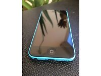iPhone 5c, blue, 16gb, locked to EE