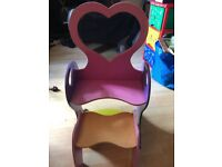 Kids Wooden Small Dressing Table