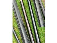 Guttering and drainage joblot