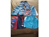 Shorts/swimshorts bundle aged 5-6 years (5 items)