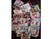 Job lot/bundle of 48 Living Etc Magazines