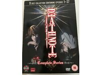 Deathnote Complete series DVDs