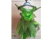 Disney Store Tinkerbell dress up. 2-3 years