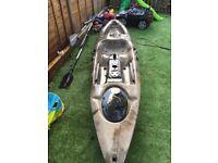 Unbranded fishing kayak