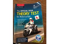 Motorbike theory test book