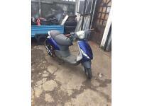 2001 piaggio zip moped 50 gilera