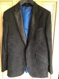 Men's Brocade Silk Jacket