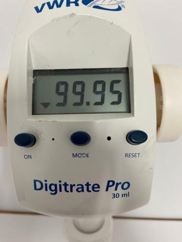 VWR Digitrate Pro 30 ml  60 days warranty!!!