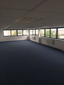 Office available to rent, includes parking and business rates