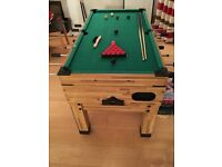 Multi games table - Excellent condition