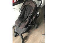 Britax b dual tandem buggy/pushchair