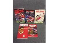 Bundle Joblot Wales Welsh Rugby books rare vintage retro. Gareth Edwards Jonathan Davies