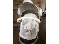 Mamas &a Papas Starlight baby swing chair