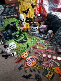 Massive large bundle of halloween stuff