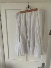 Linen skirts monsoon & Celtic collection size 12 & 14