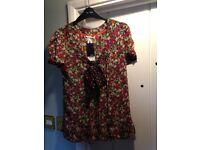 Next - Blouse and 'Under vest' - still labelled - size 14