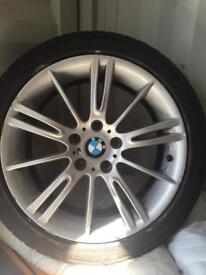 """BMW mv3 style 18"""" alloys tyres"""