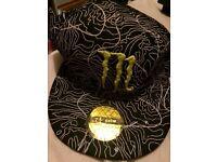 Monster Energy flat cap