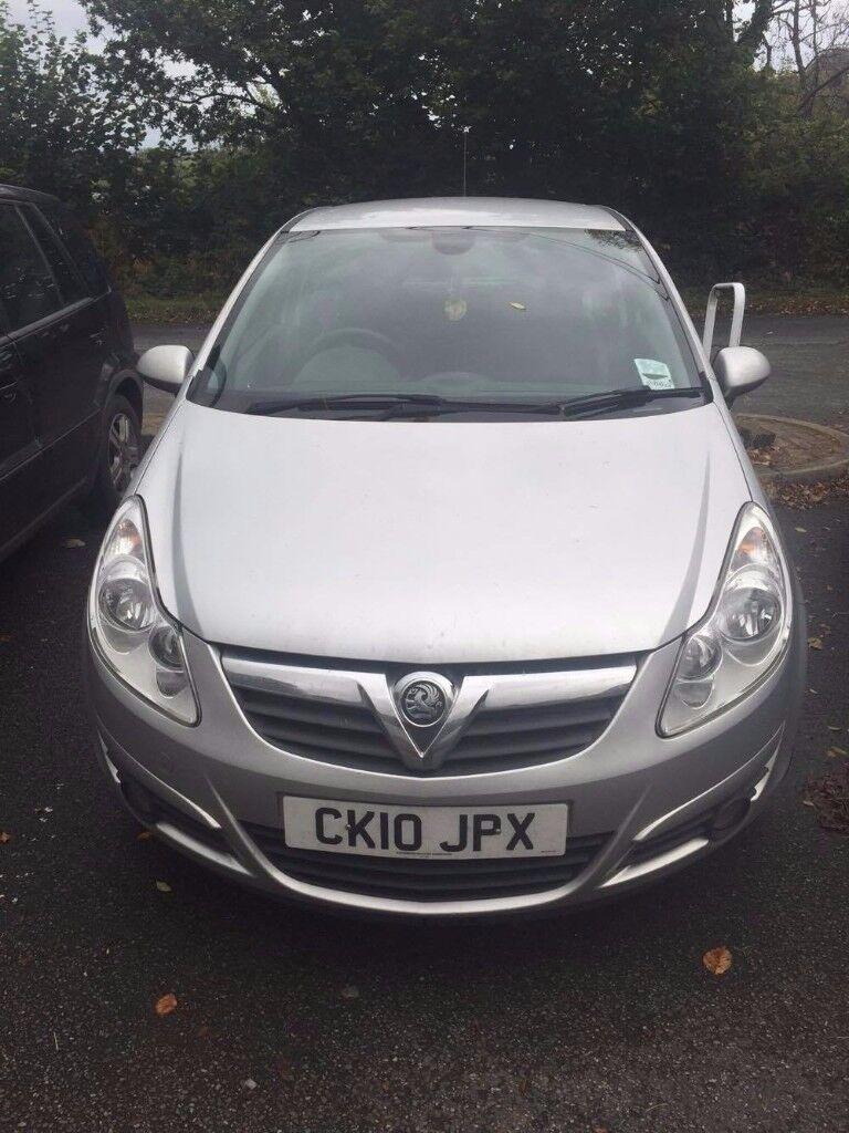 2010 Vauxhall Corsa Hatchback (Silver) - 1.2i 16V SE 3dr -SPARES OR REPAIR