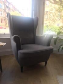 Ikea Strandmon Wing back chair