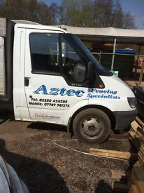 FORD TRANSIT TIPPER (needs work to engine/gear box)